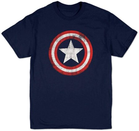 Buy Captain America Shield T-shirt