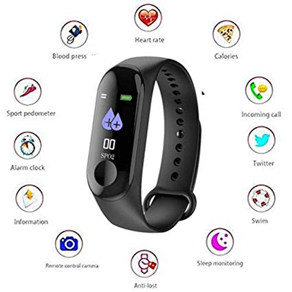 buy M3 Intelligence Bluetooth Health Wrist Band Watch And Smart Health Bracelet