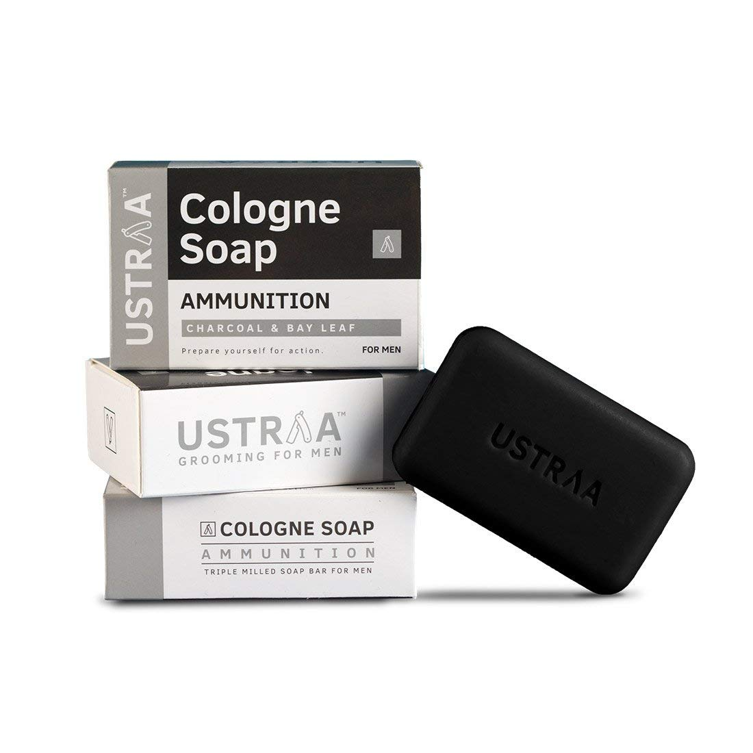 Ustraa Soap With Charcoal