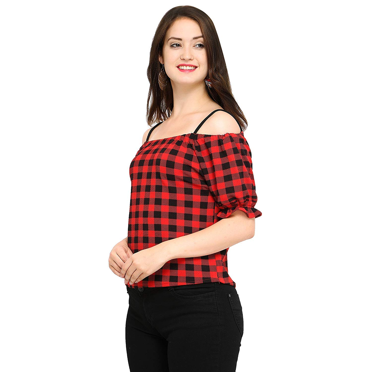 Top Fusion Women's Regular fit Top