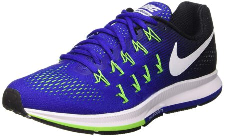 Nike Men Blue Air Zoom Pegasus 33 Running Shoes