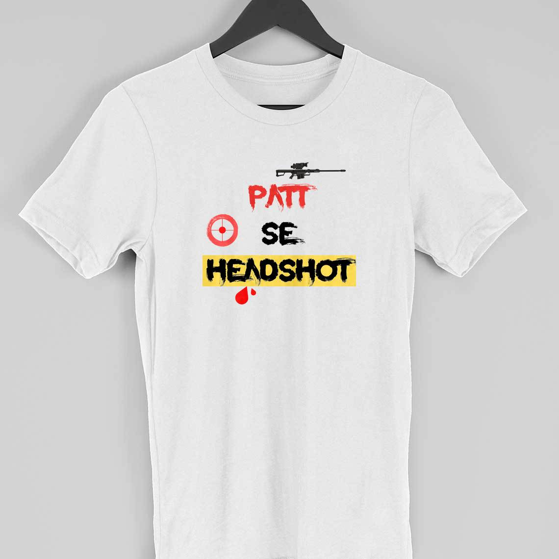 Patt se headshot t-shirt