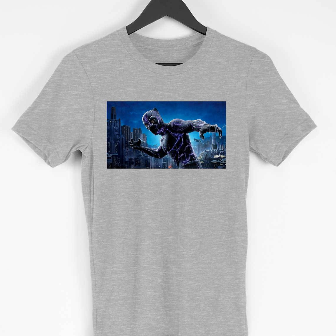 Black Panther T-shirt (grey)