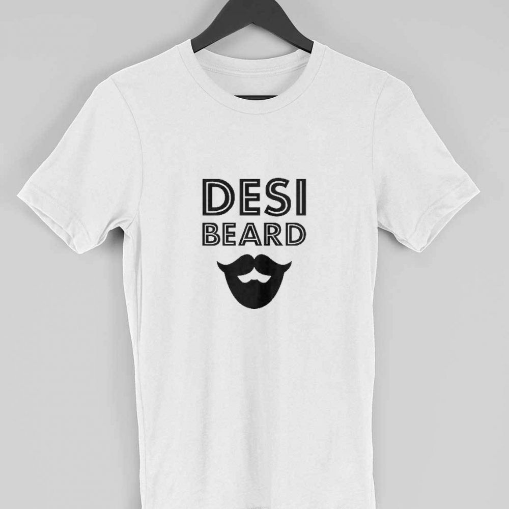 desi beard t-shirt