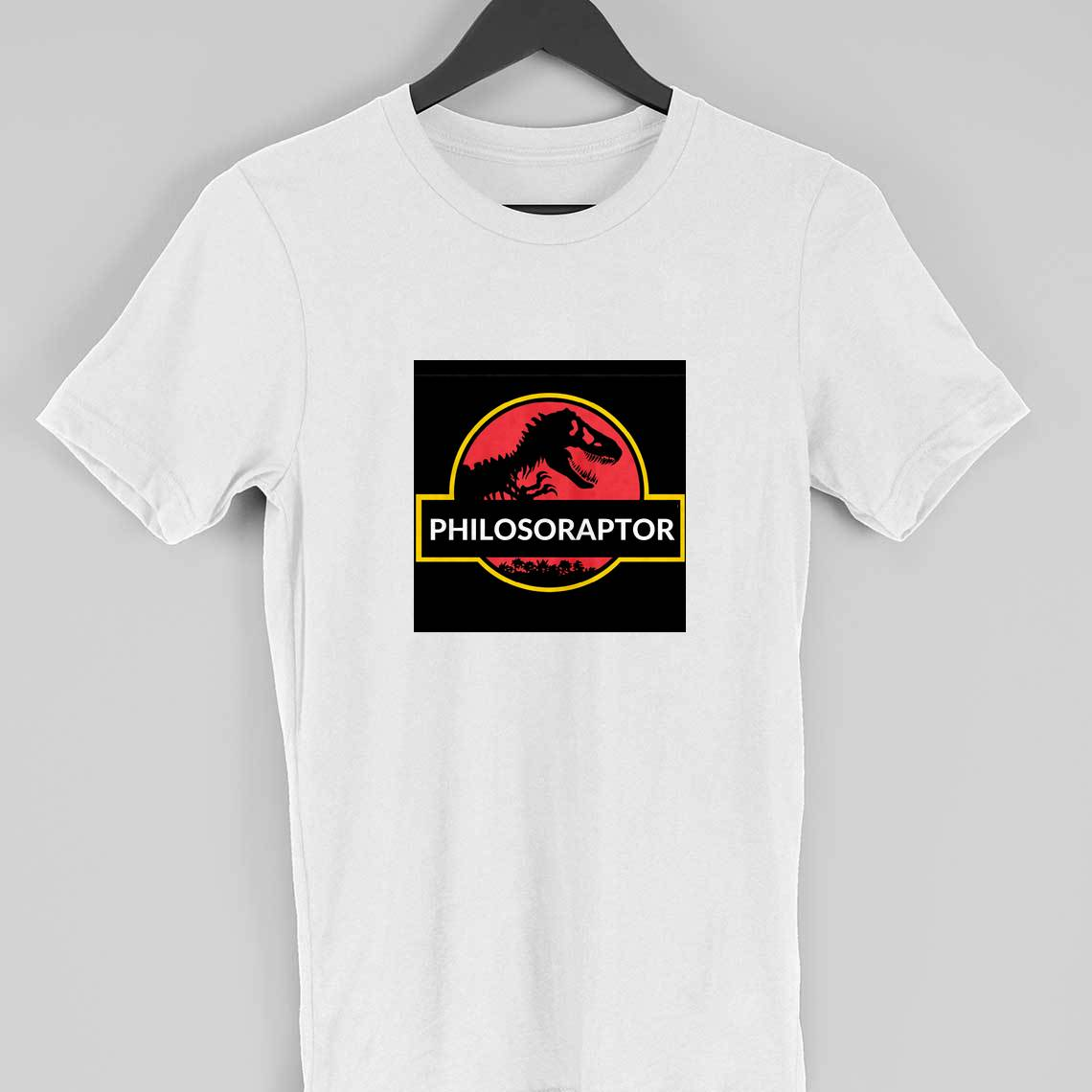 Philosopher dinosaur t-shirt