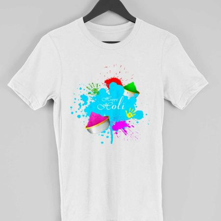 happy holi t-shirt