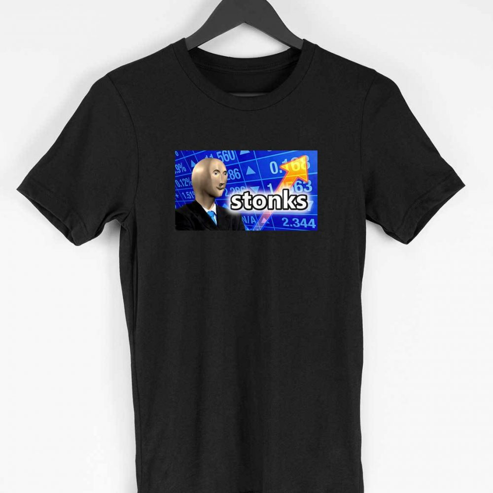 Stonks T-shirt (Black)