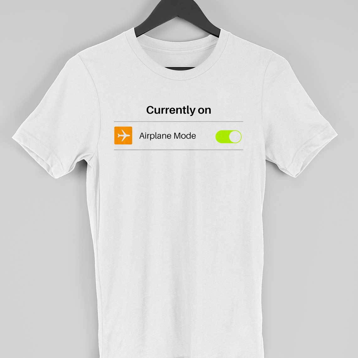 airplane mode t-shirt