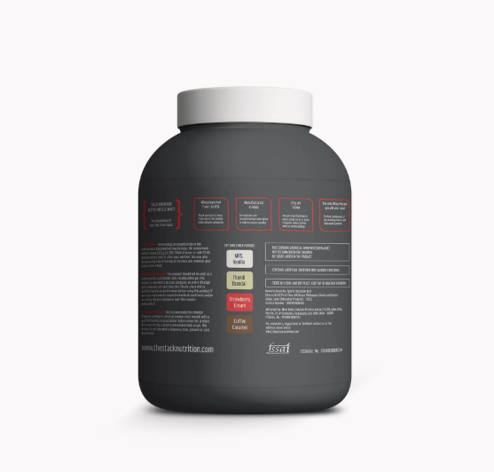 stack nutrition whey