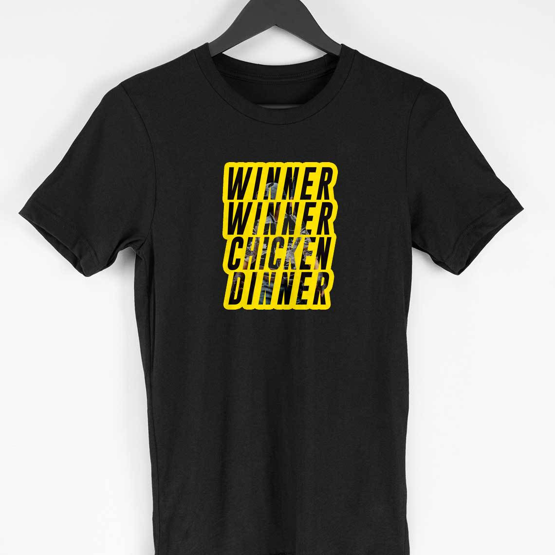 Winner Winner Chicken Dinner T-shirt (Black)
