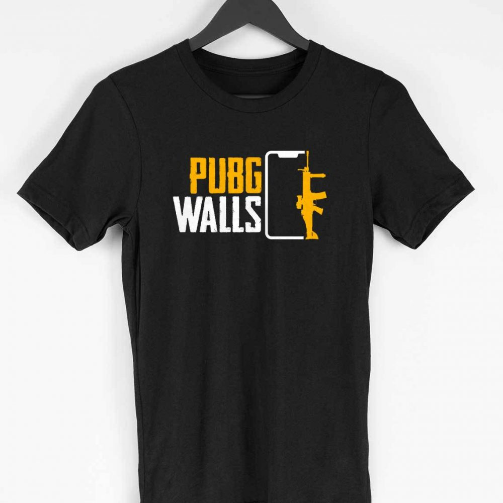 PUBG Walls T-shirt (Black)