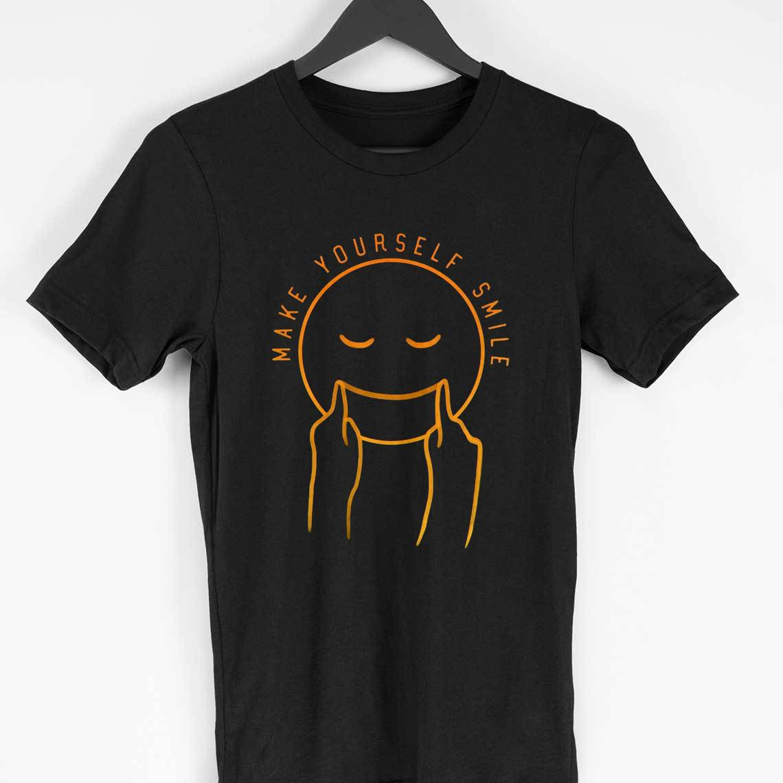 make yourself smile t-shirt