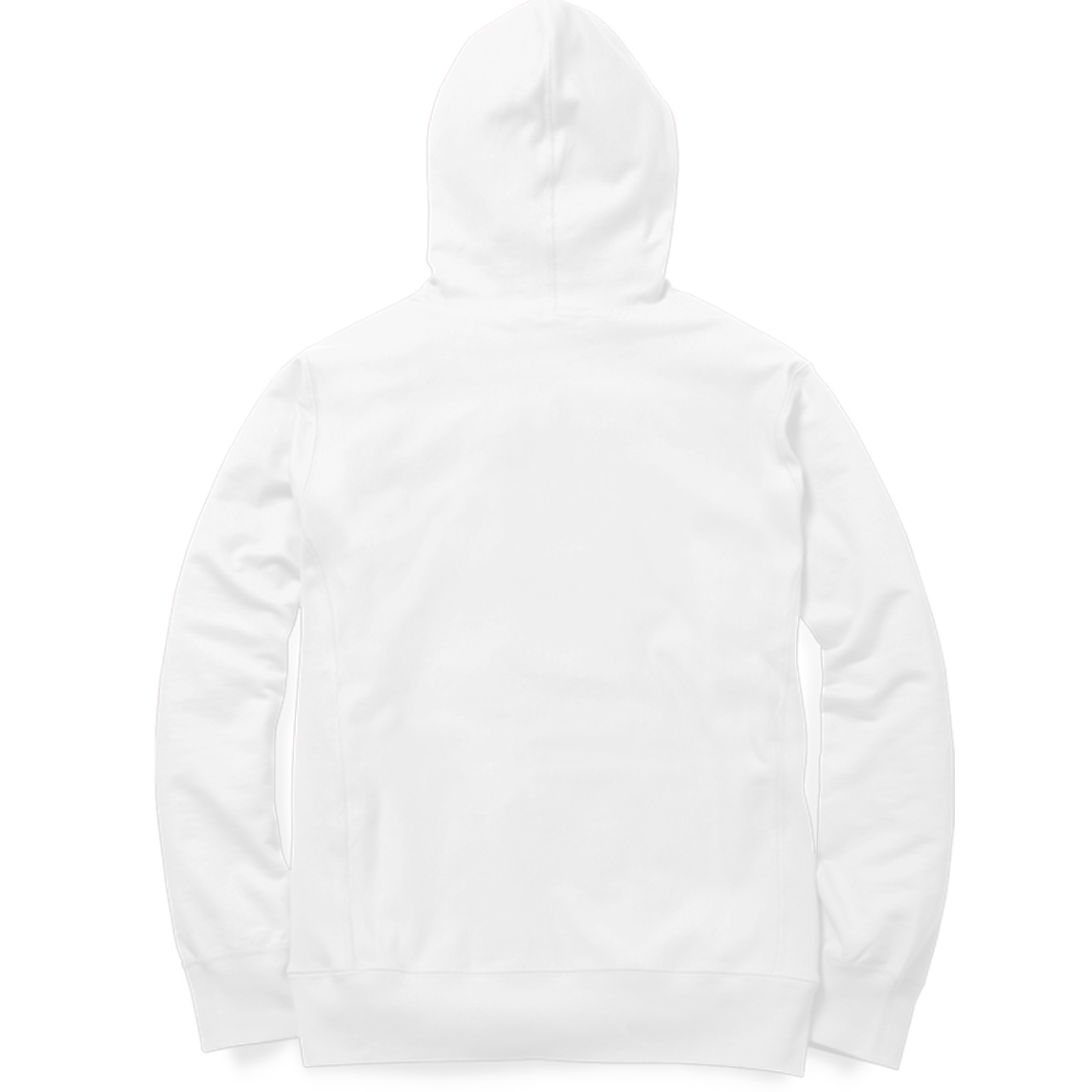 the taj mall hoodie white