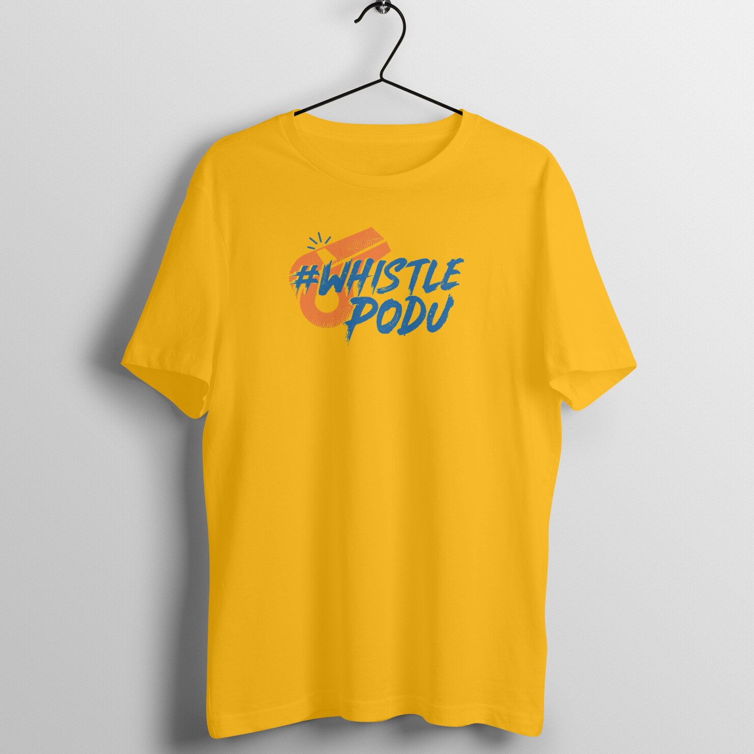 Whistle Podu T-shirt (Yellow)